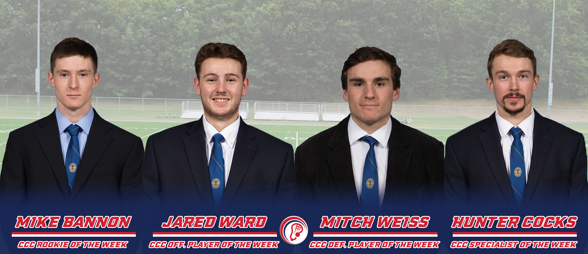 Golden Bears Sweep CCC Weekly Men's Lacrosse Awards