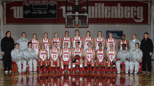 2012-13 Wittenberg Women's Basketball