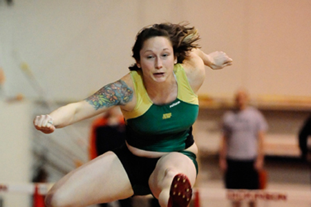McDaniel competes at Messiah Multis