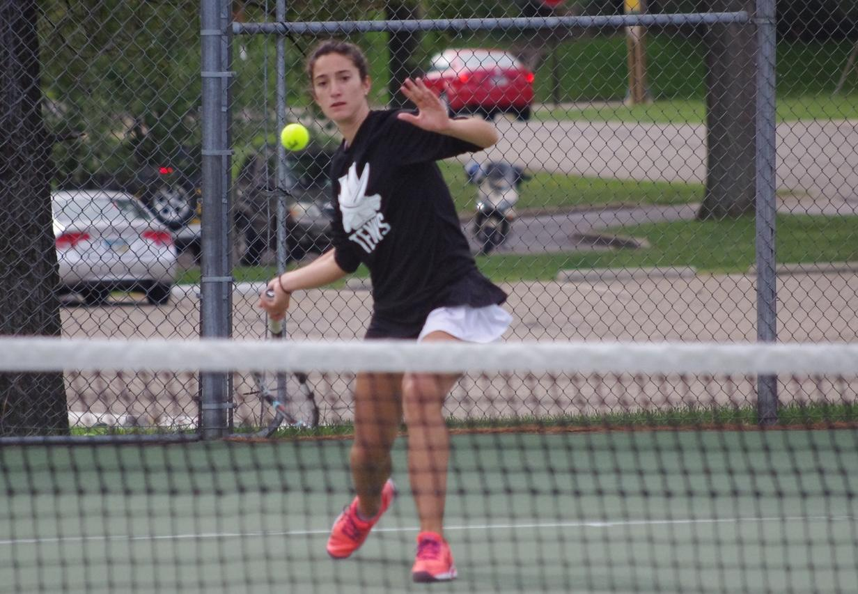Women's Tennis Shutout By Akron