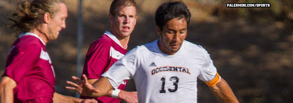 Oxy men's soccer seniors go out with a bang