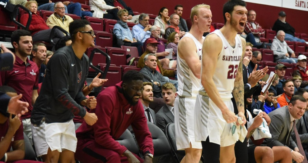 Men's Basketball Plays Sunday Afternoon Home Tilt Against Sonoma State