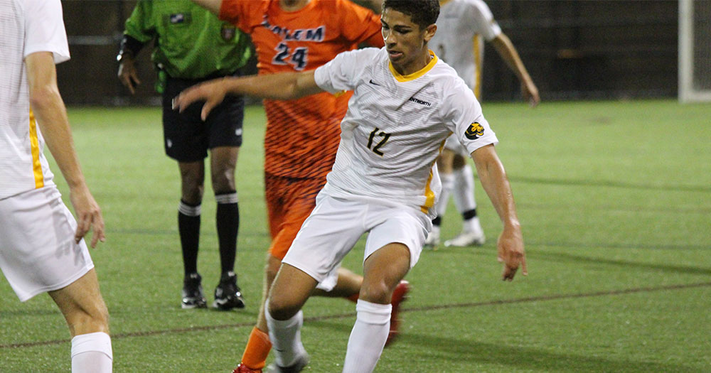 Men's Soccer Shut Out at Gordon