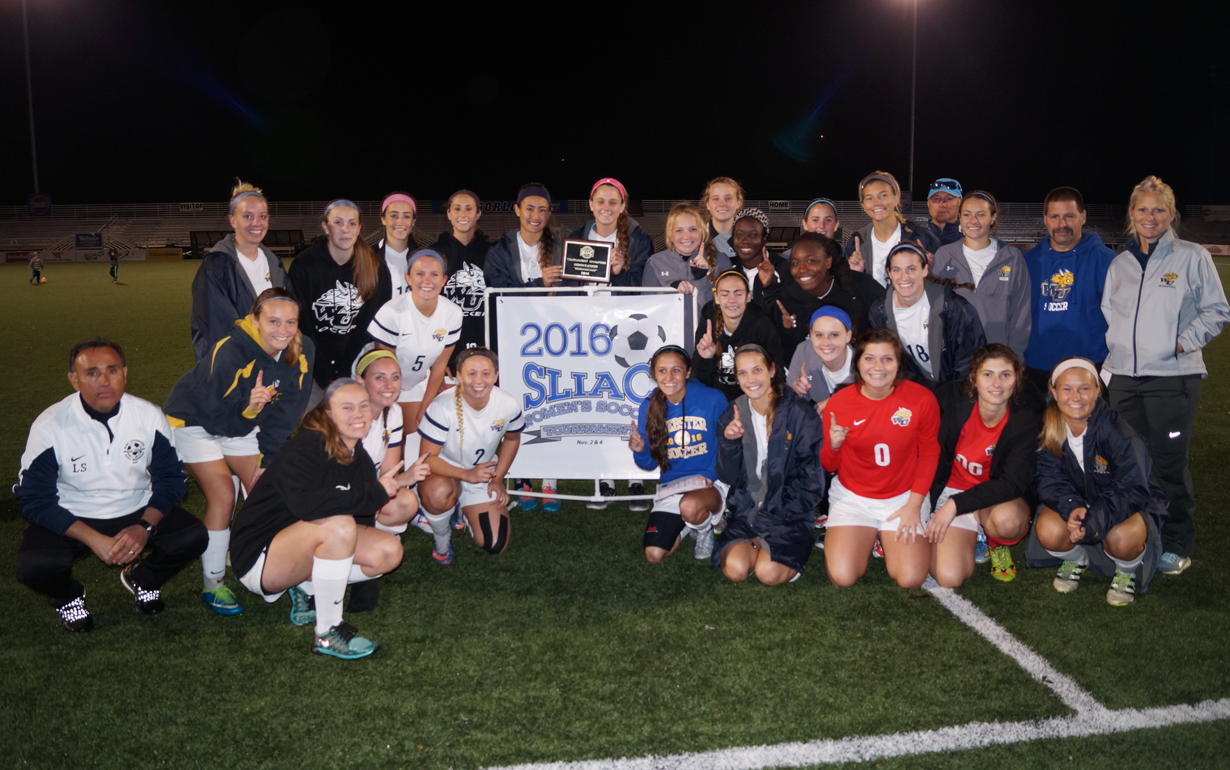 Eight Is Great For Webster Women's Soccer