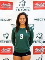Constance Rollins, Volleyball, Freshman MB, WSC