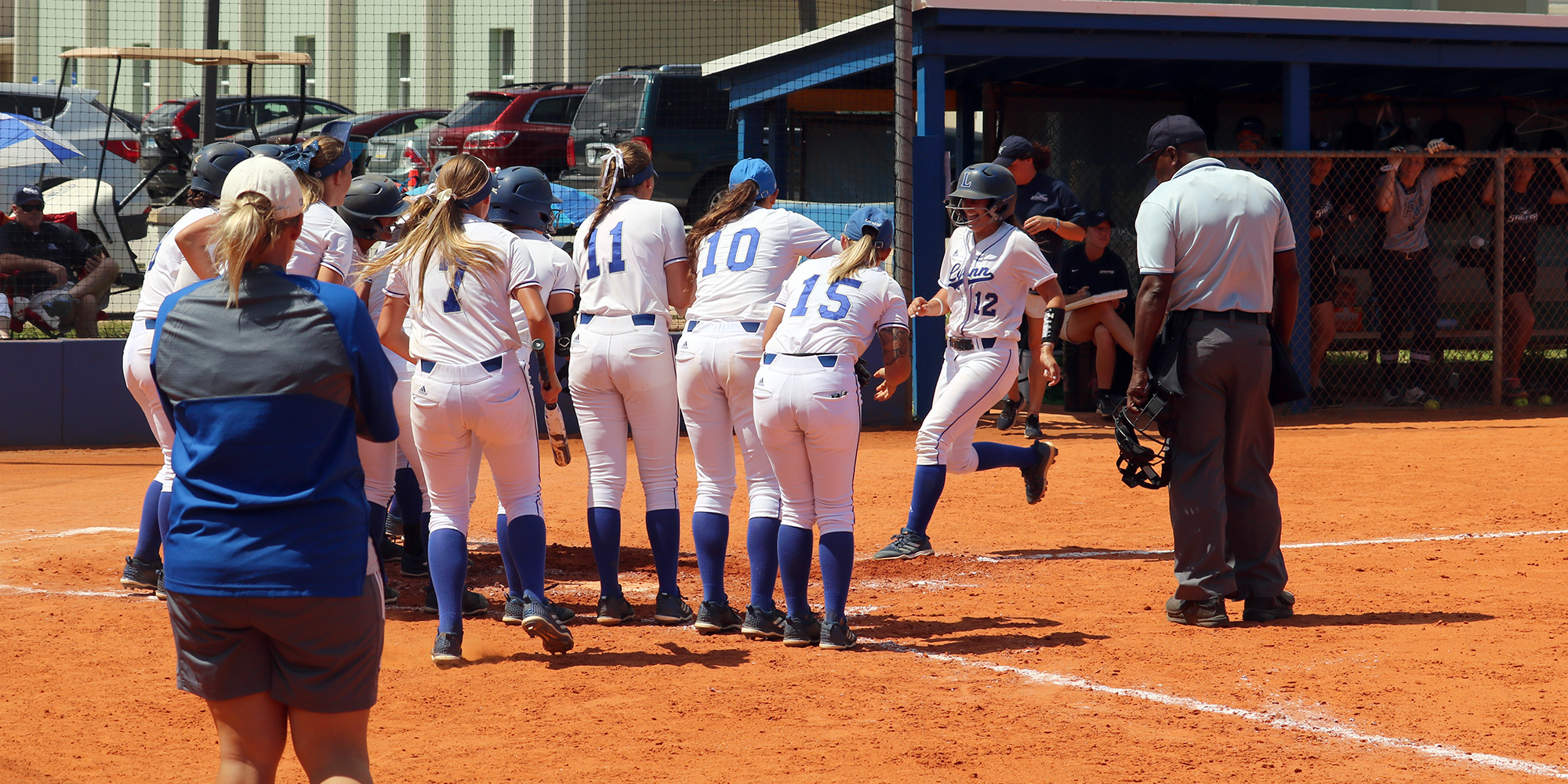 Softball Falls to No. 13 PBA in Doubleheader Marathon