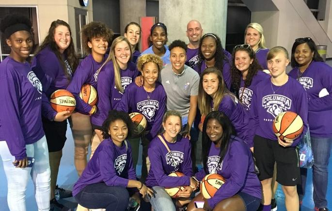 Women's Basketball visits Atlanta Dream