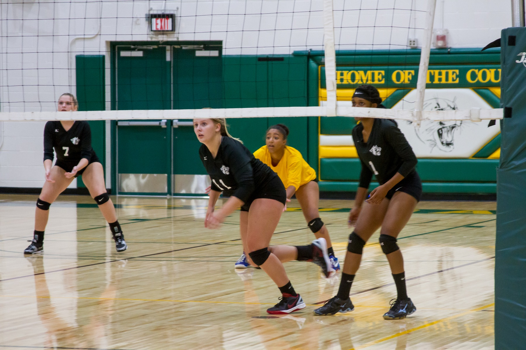 Volleyball Clips Fighting Owls; Remain A Perfect 7-0 In Conference