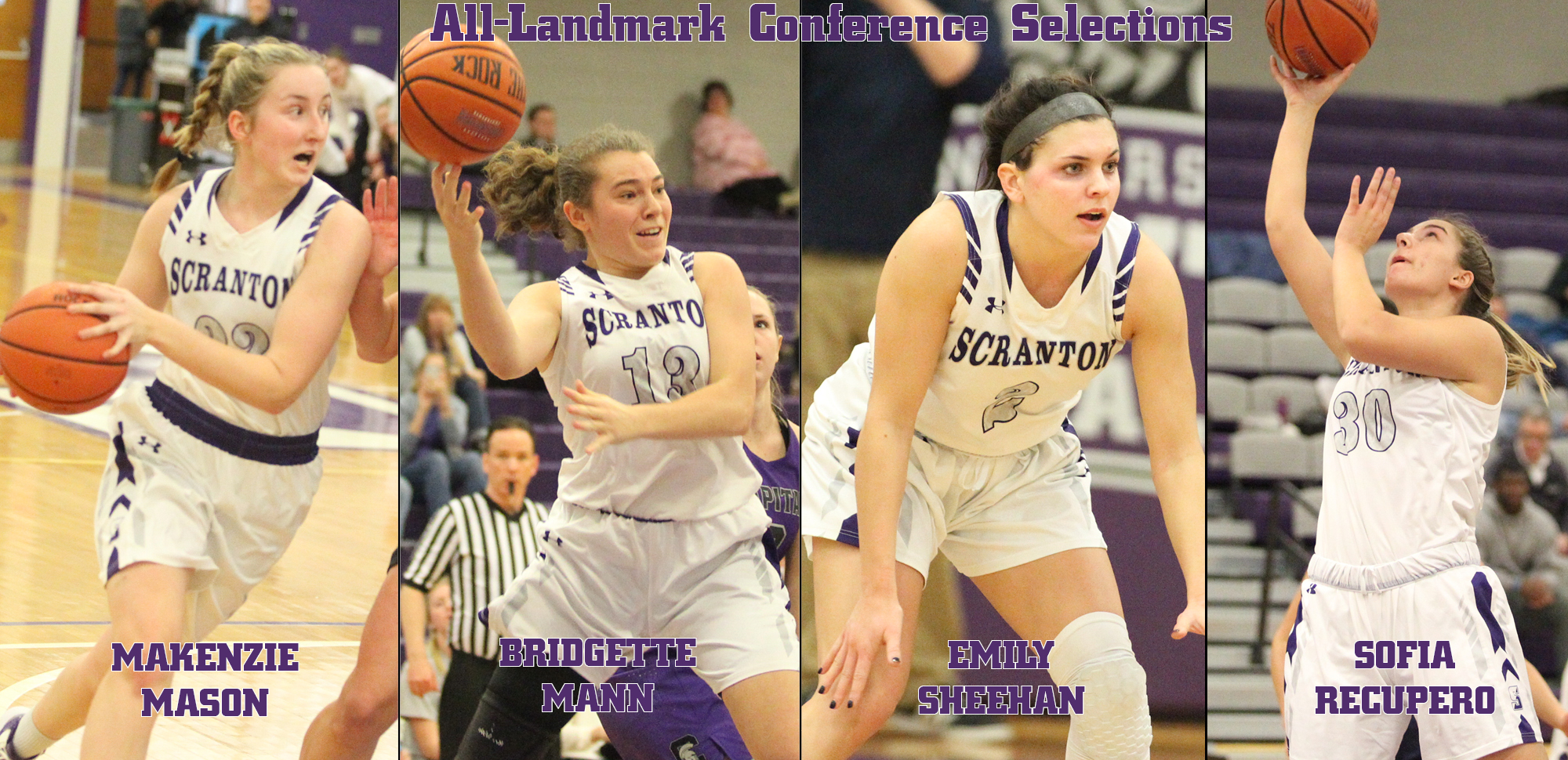 Mason Player of the Year/Sheehan Defensive Player of the Year to Headline All-Landmark Conference Selections for Women's Basketball