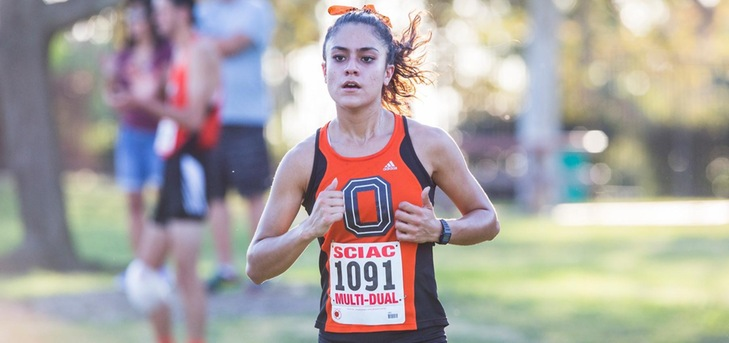 Oxy Women's XC 2nd at SCIAC Multi Dual