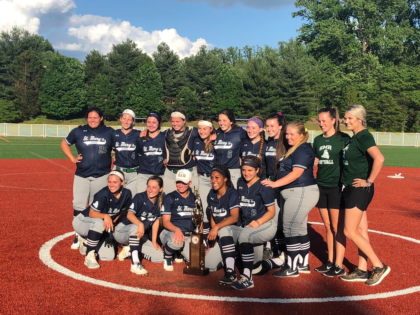 St. Mary's Ryken wins the WCAC Softball Championship in extra innings for their first title since 2015.