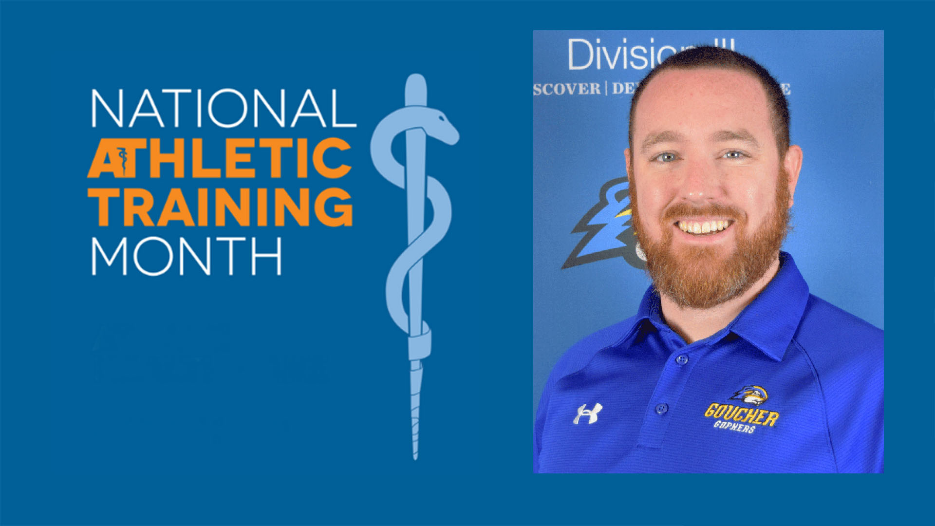 National Athletic Training Month Spotlight at Goucher: Conor Trainer