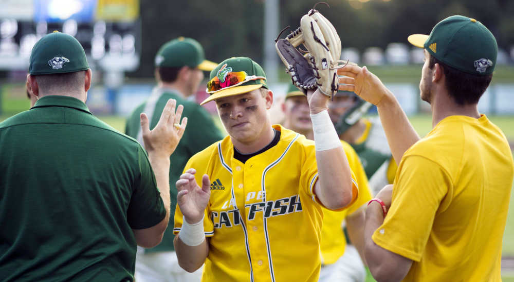 Kennett graduate Zane Wallace enjoying baseball experience on inaugural Cape Catfish squad