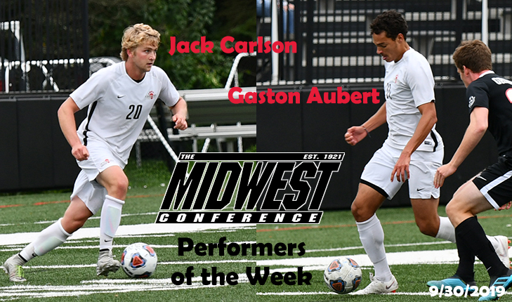 Carlson and Aubert Sweep MWC Weekly Honors