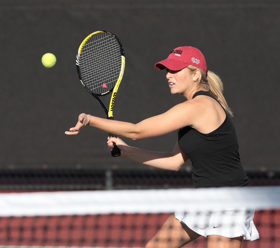 Santa Clara Women's Tennis Falls to No. 8 Cal