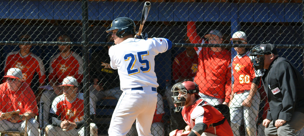 Concordia Baseball Edged in CACC Doubleheader by Chestnut Hill