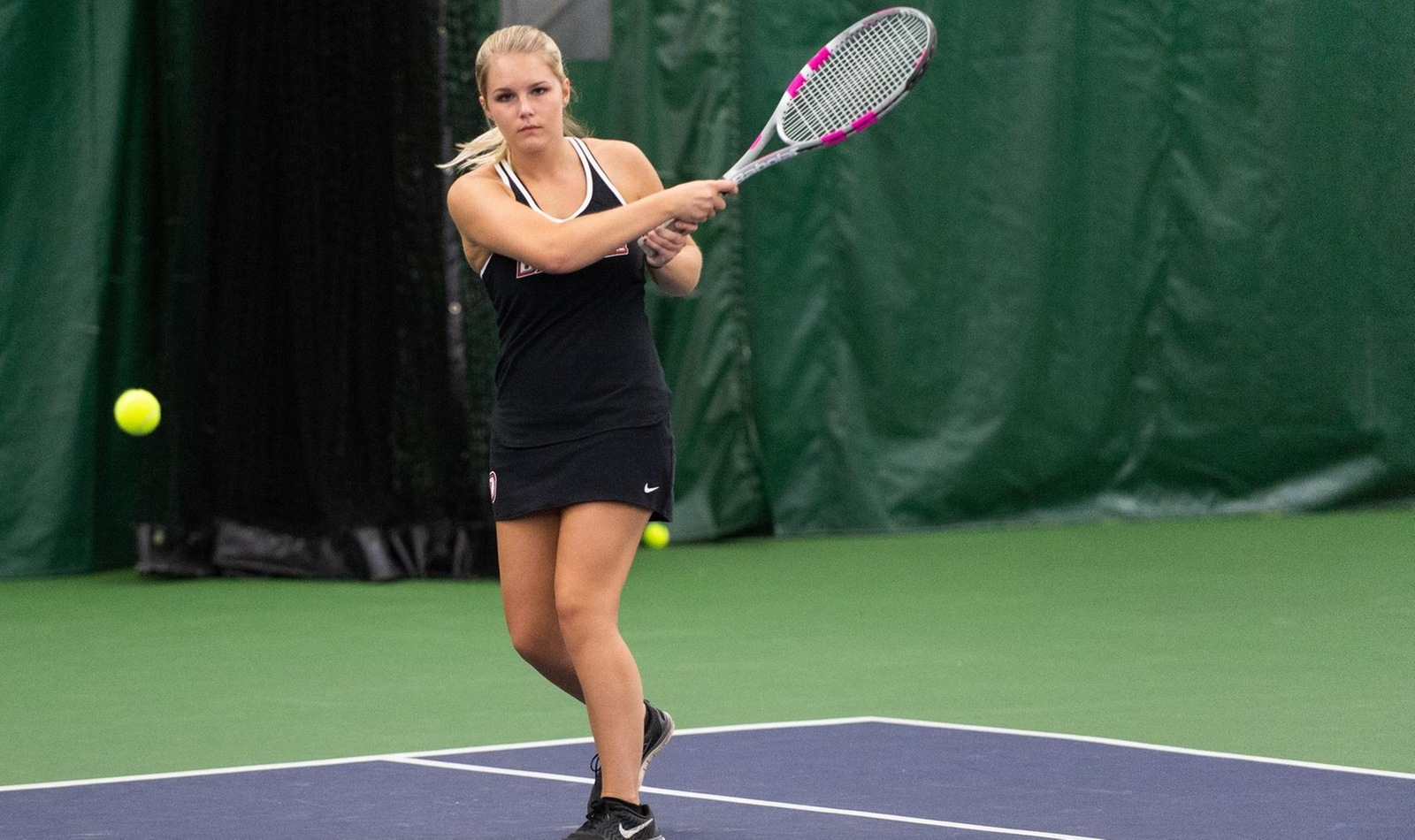 Lexi Dickson (pictured above) earned her first collegiate against Altoona