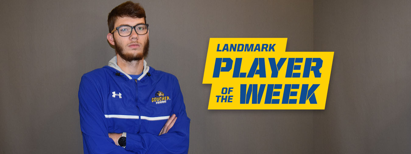 Jackson Penner Named Landmark Conference Men's Swimming Athlete Of The Week