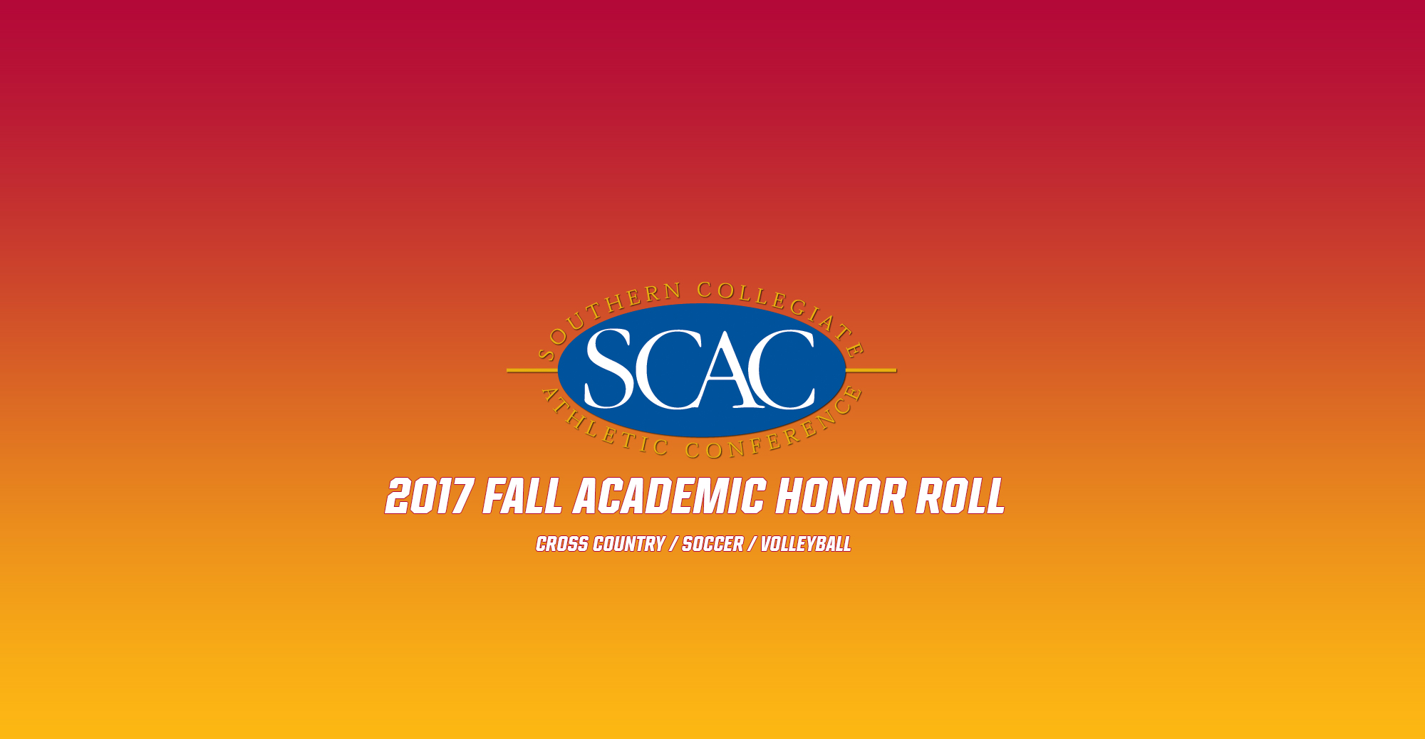 43 'Roos Named to SCAC Fall Academic Honor Roll