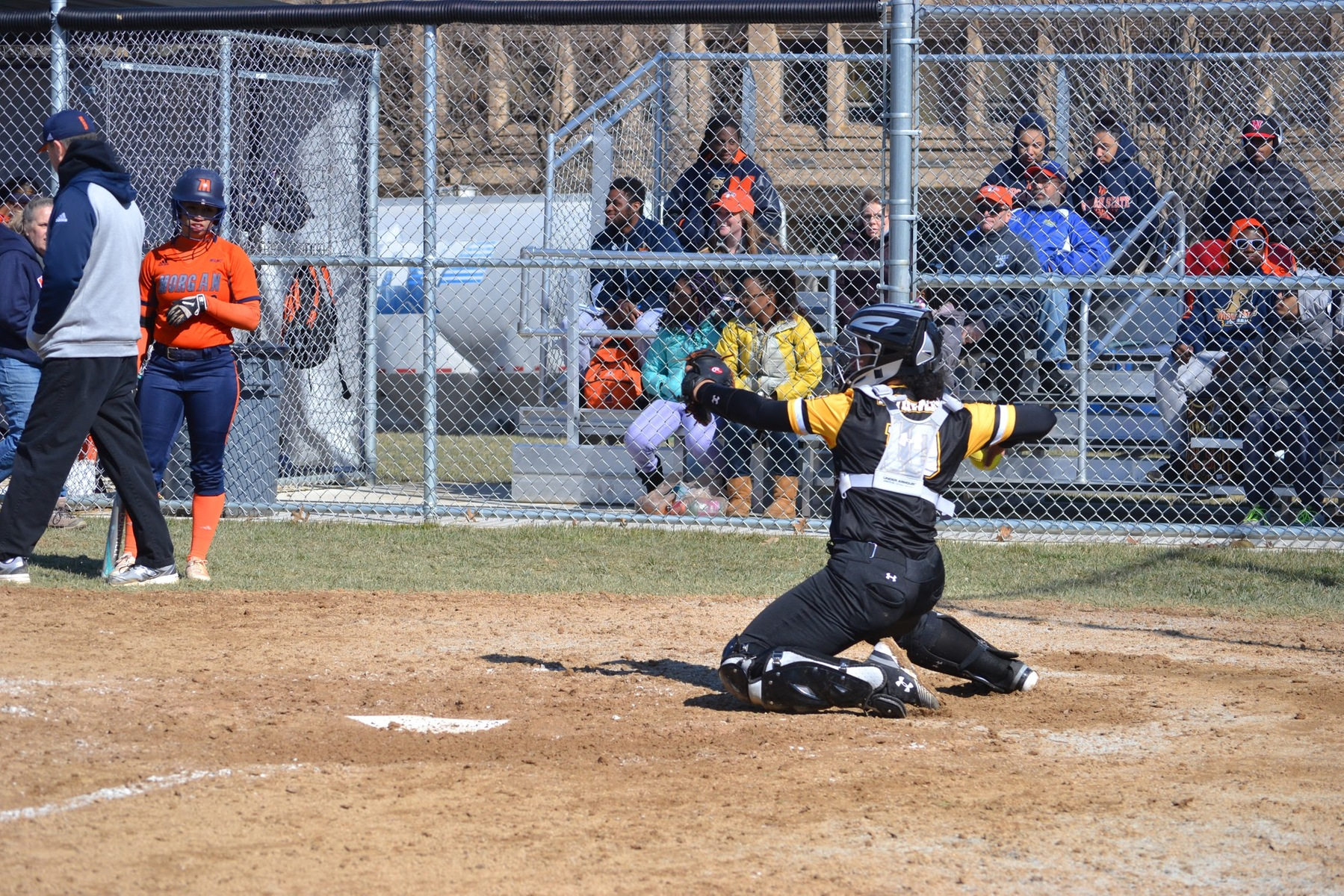 Dawson Slugs Two Homers, Softball Drops Both Games in Hampton Inn BWI UMBC Dawg Pound Invitational Opener