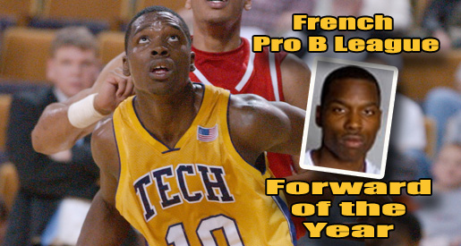 Former Golden Eagle Amadi McKenzie named France's Forward of the Year