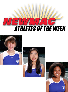 Blue Tennis Sweeps NEWMAC Weekly Awards