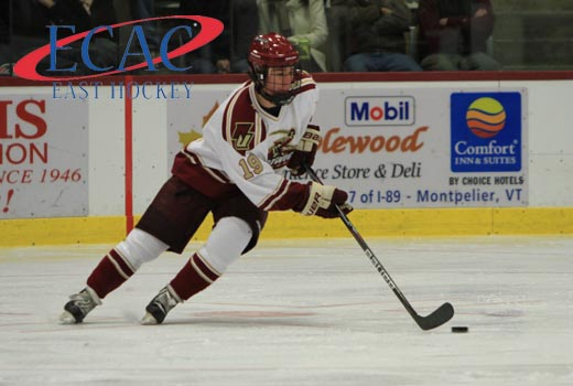 Men's Hockey: Janke Tabbed ECAC East Player of the Week