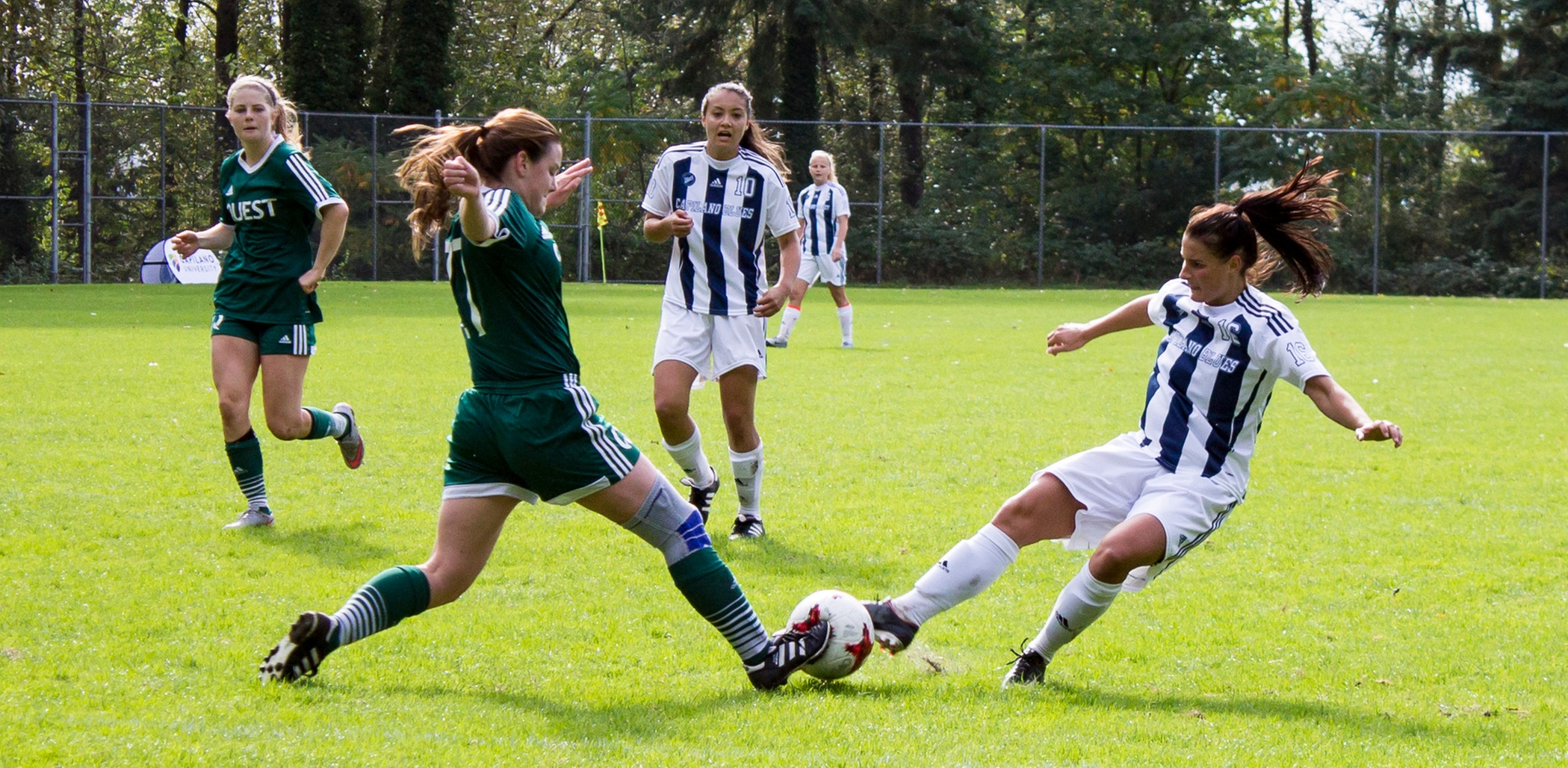 CapU soccer battles in Squamish