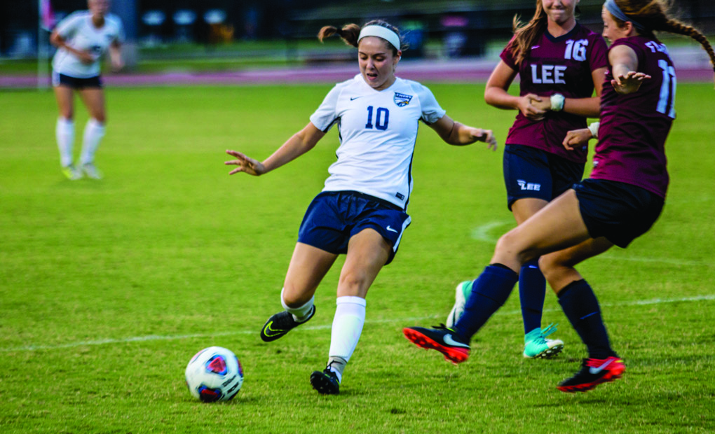 First Half Onslaught Leads Women's Soccer Past Oglethorpe in Blowout Win