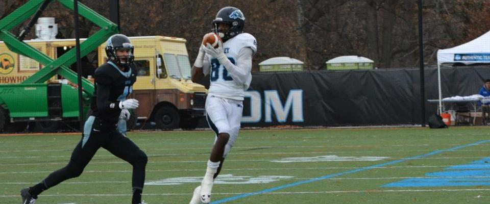 #14 Football Scores Late To Shock #8 Johns Hopkins