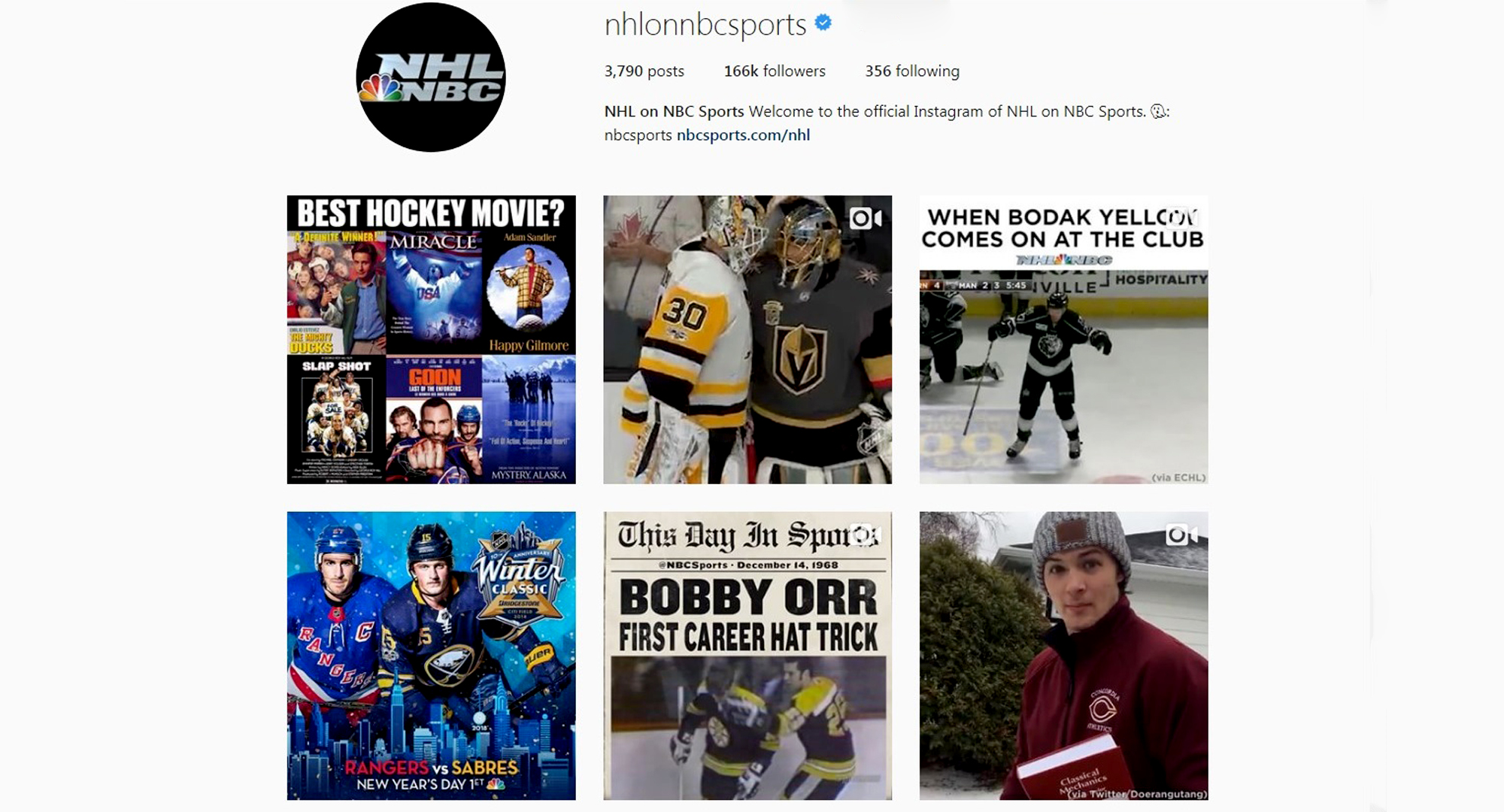 "Zach Doerring's ""skating to finals"" video was picked up by several national media outlets including NHL on NBC."