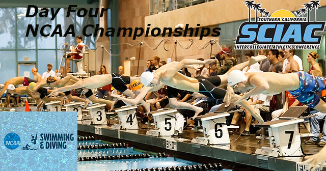Several SCIAC Swimmers Medal On Final Day