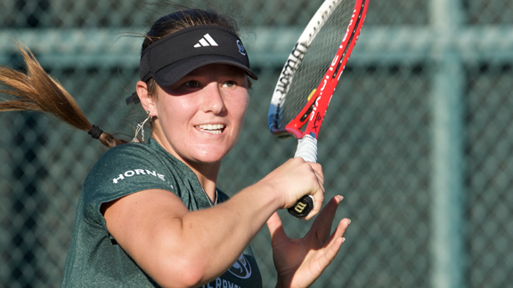 LOHSCHEIDT GARNERS BIG SKY WOMEN'S TENNIS PLAYER OF THE WEEK