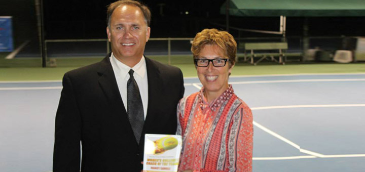 Gamble Honored as Region's Top Coach