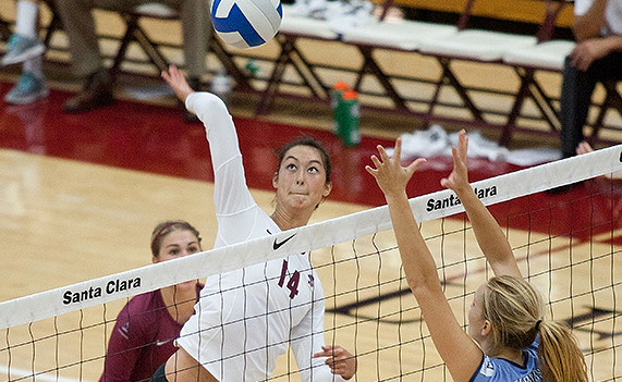 Volleyball Falls 3-2 vs. No. 16 San Diego