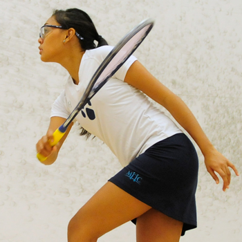 Squash Uses Home Court Advantage to Take Down Wesleyan