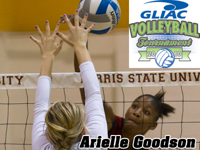 Arielle Goodson Named To GLIAC Women's Volleyball All-Tournament Team