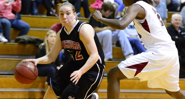 Lynchburg Women Hang tough, falls 61-52 at Guilford