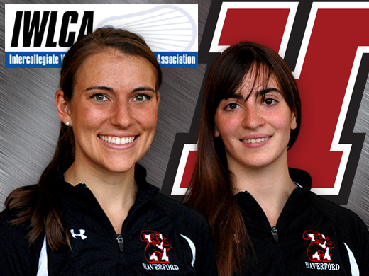 Downing, Horn named to IWLCA academic honor roll