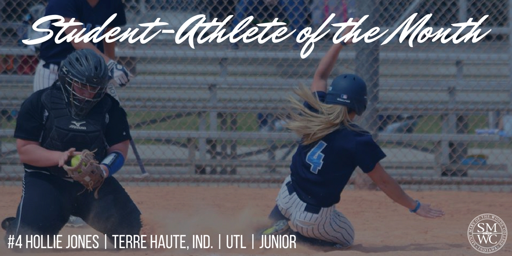 Hollie Jones Named SMWC Student-Athlete of the Month