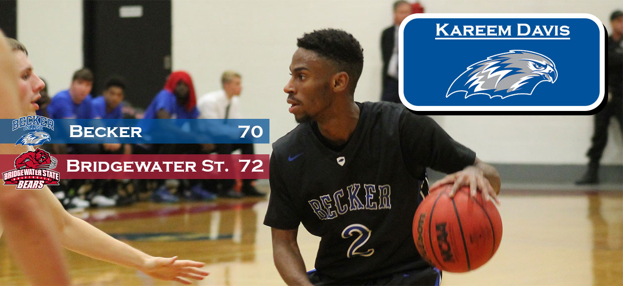 Men's Basketball rally falls short at Bridgewater, 72-70