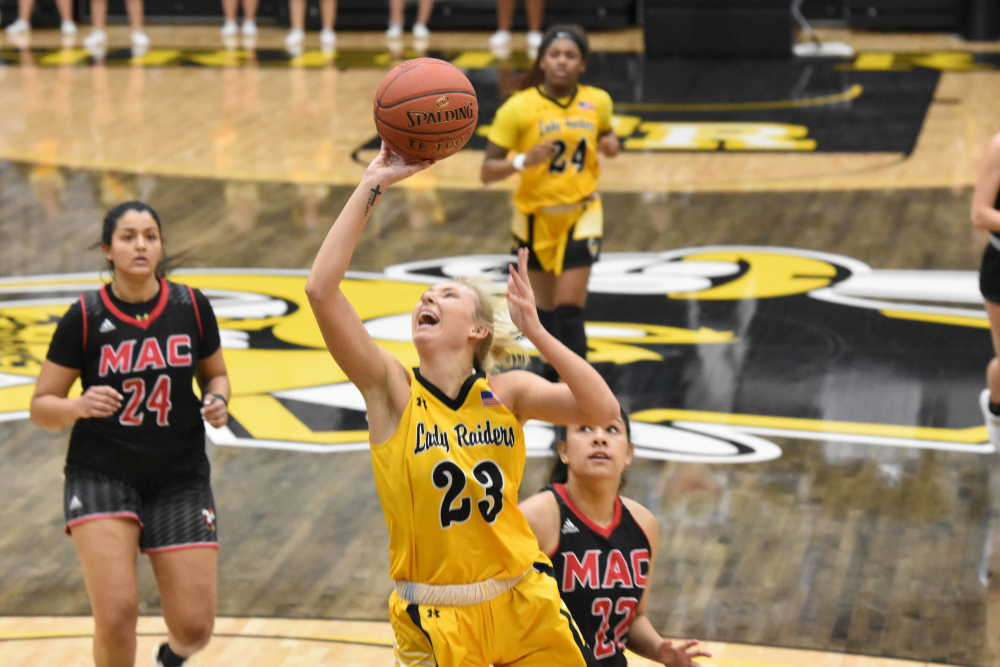 Lady Raiders dominate from start against Mineral Area