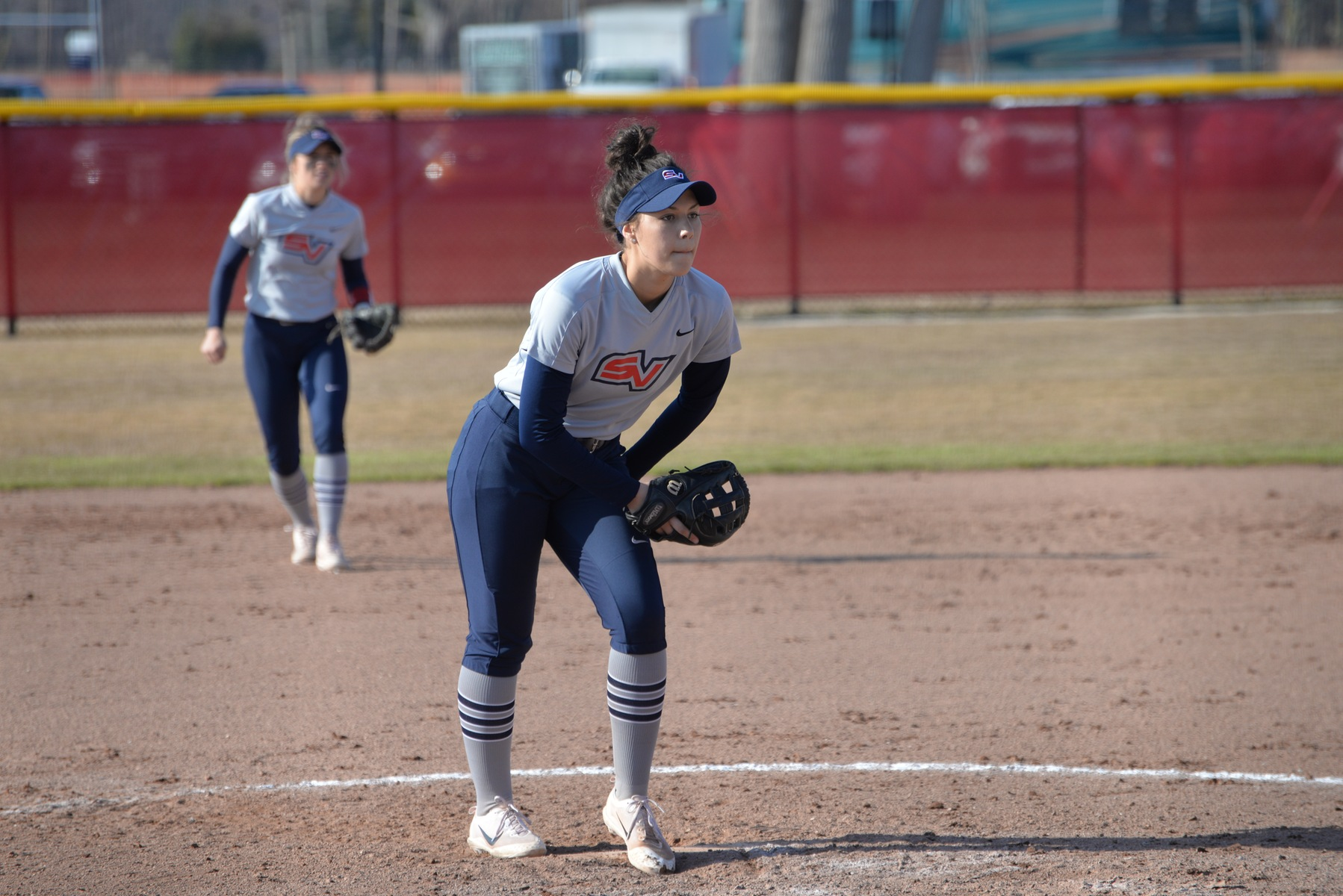 Softball collects two Saturday victories in West Virginia