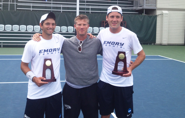 National Champs!!! -- Kahler & Wagner Capture Emory's First-Ever NCAA D-III Men's Doubles Title