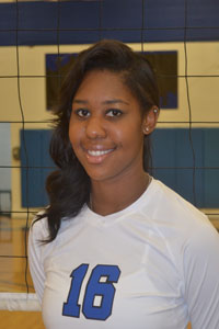 Volleyball: Ashley Wilson
