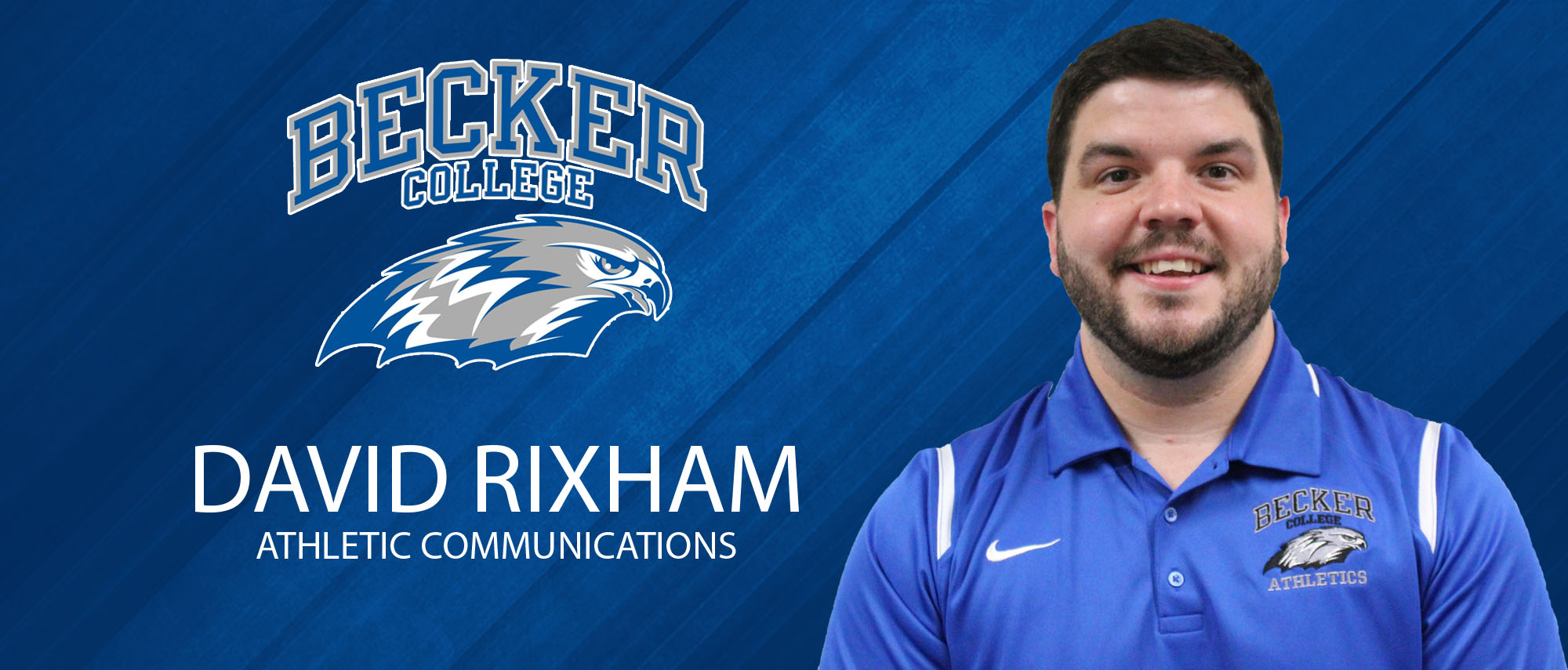 David Rixham, Assistant Director of Athletic Communications