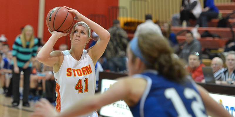 Terpstra clutch in final minutes as Storm hold off Luther