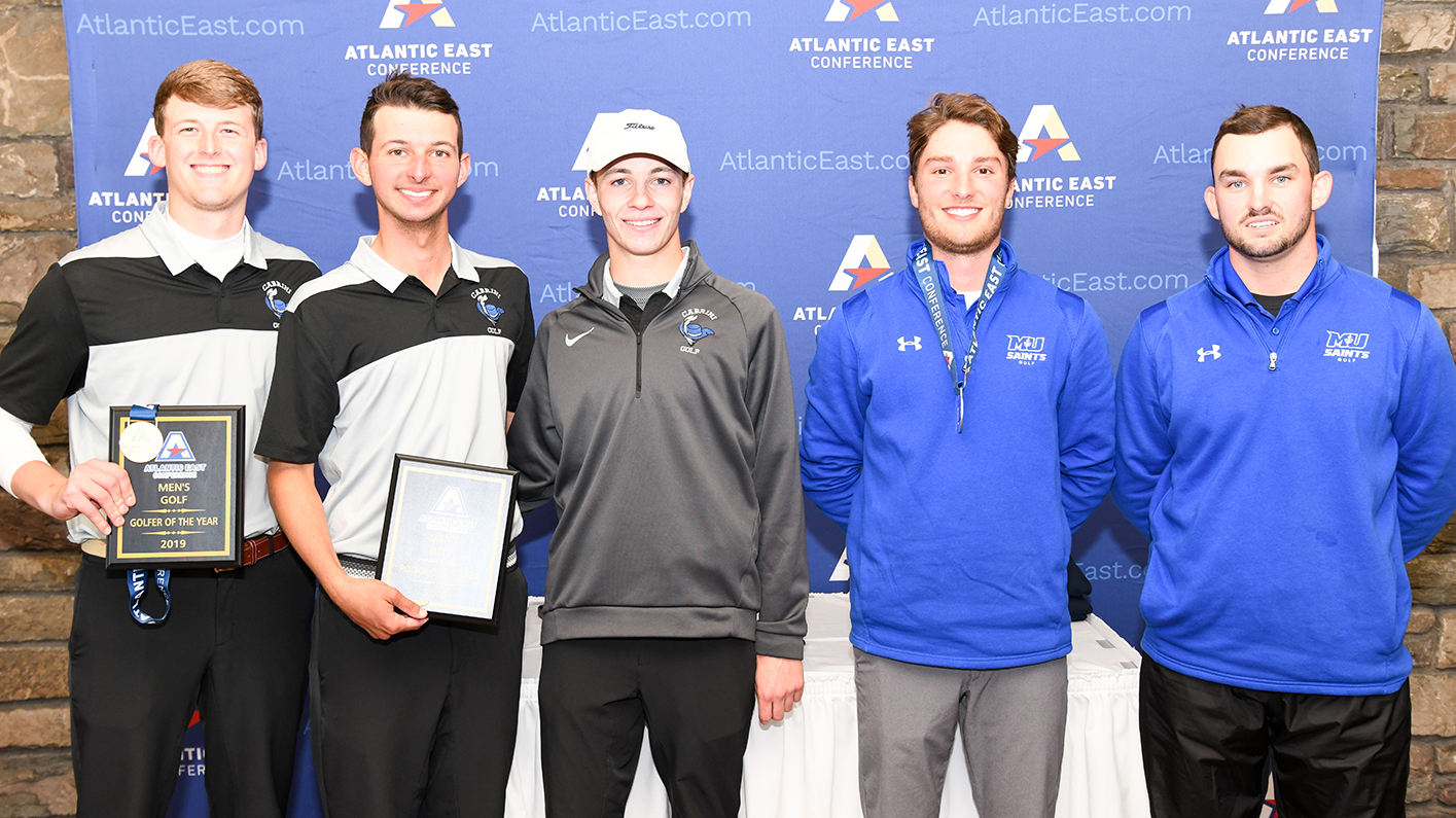 Coffin, Dobak Lead Men's Golf To Fourth-Place Finish At Atlantic East Championships
