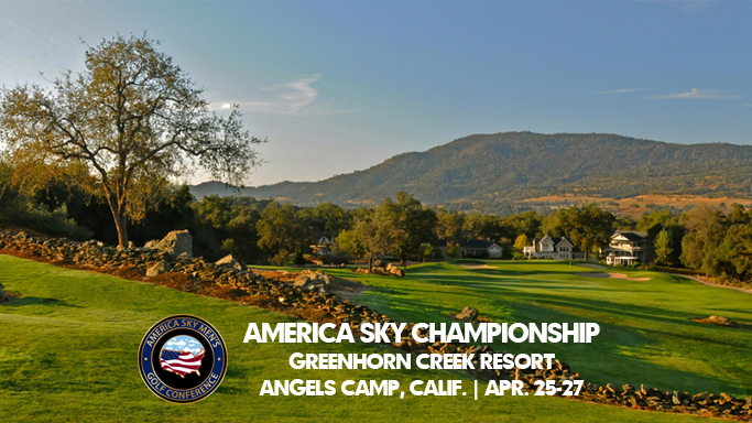 MEN'S GOLF HOSTS AMERICA SKY CHAMPIONSHIP STARTING FRIDAY