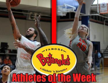 Johnson, Simerly garner Bojangles Athlete of the Week honors